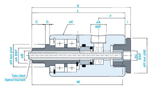 SN30 tube siphon tournant